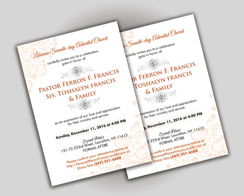 Seventh Day Adventist Wedding Program Sample