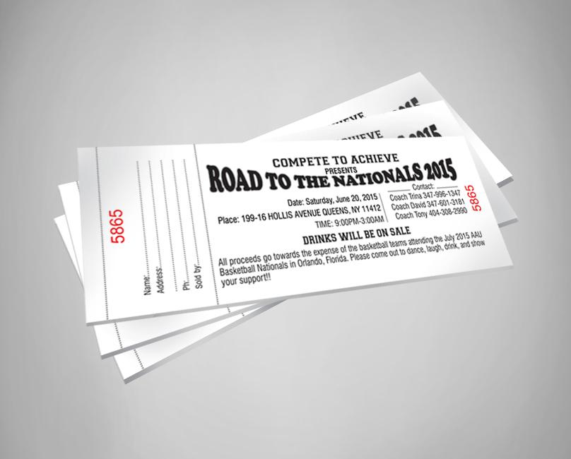 raffle tickets designing new york