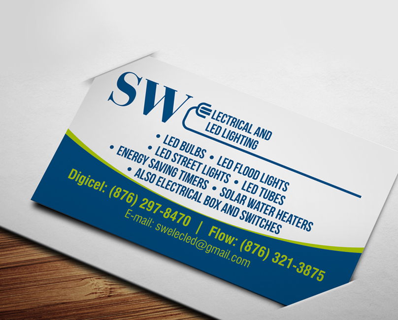 Fine Electrical Business Cards Contemporary - Business Card Ideas ...