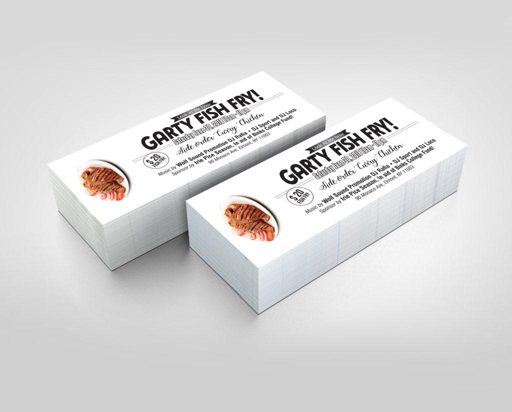 Raffle Tickets Designing New York Raffle Book Printing